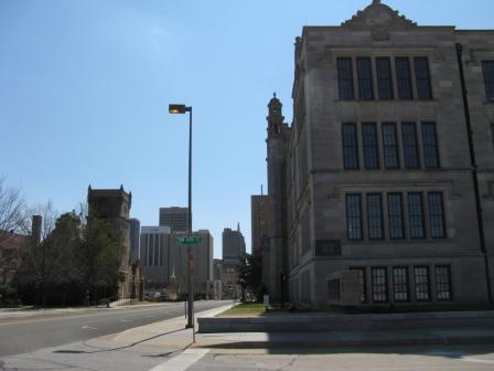 shot of Central High School
